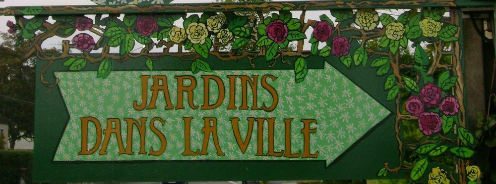Detail jardins dans la ville
