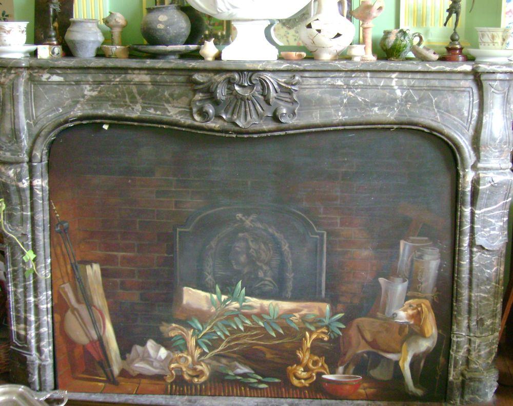 Ecran de cheminée