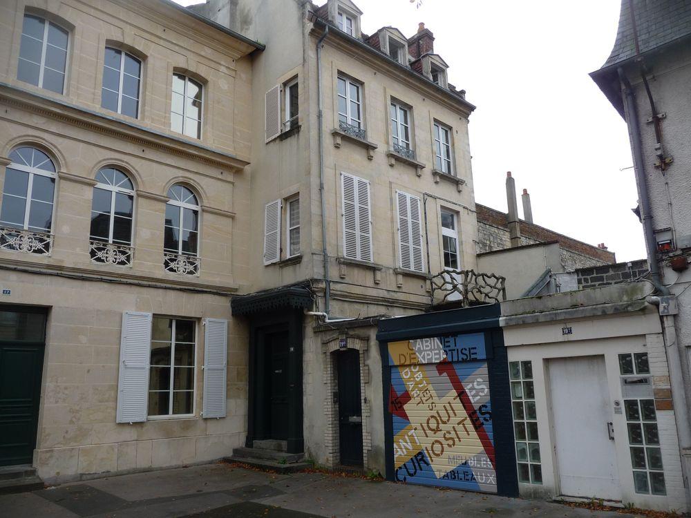 Enseigne Antiquités Caen