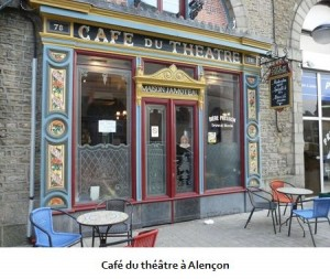 Café du théâtre à Alençon