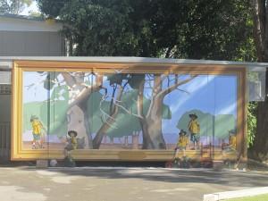 Cammeray PS Treet Tops mural
