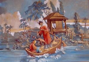 Chinoiserie peinte