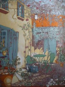 Décor sur toile (1.70 x 2 m)