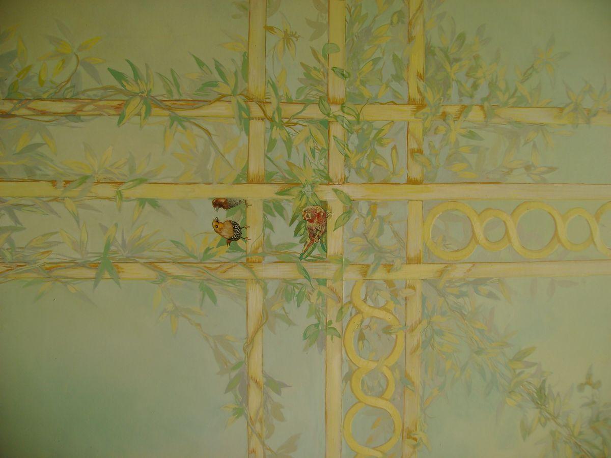 Détail Plafond salon