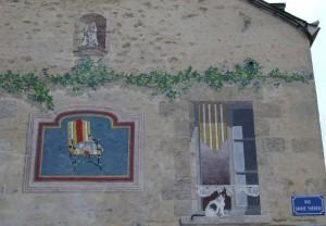 Détail façade Ste Thérèse
