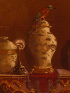 Détail toile peinte