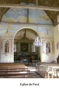 Eglise de Pacé