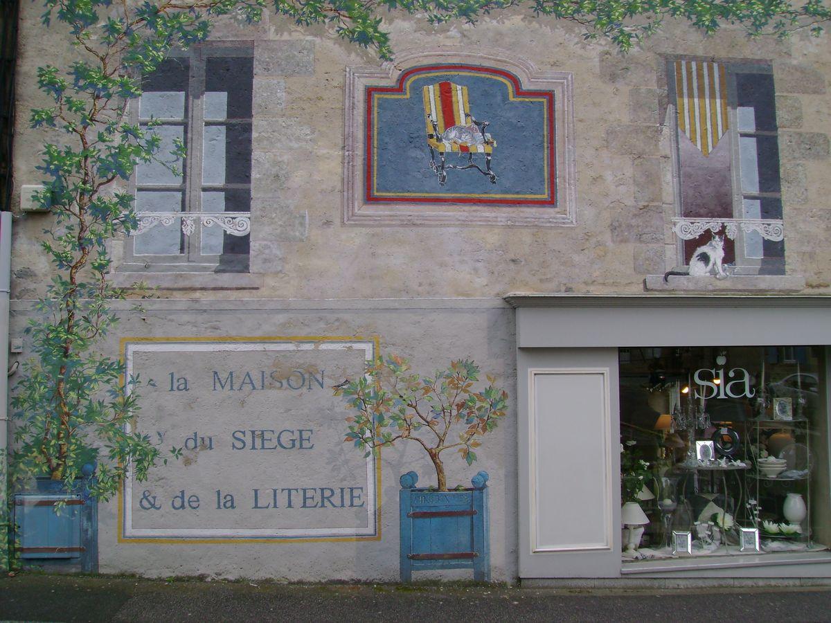 Façade Rue Ste Thérèse Alençon détail