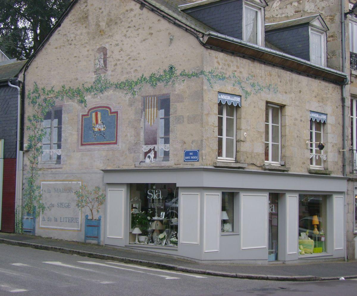 Façade boutique Alençon