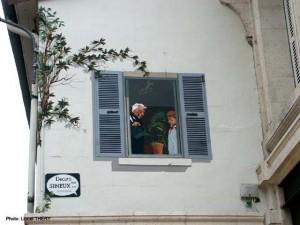 Glycine & fenetre peints, Angoulème 2