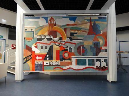 Hommage à Fernand Léger - hall de la CDC d'Argentan