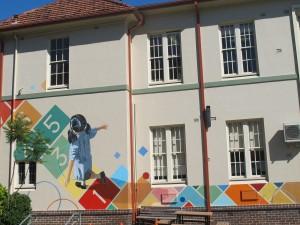 Hopscotch School courtyard Artarmon PS