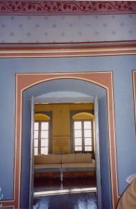 Intérior maison grec peint