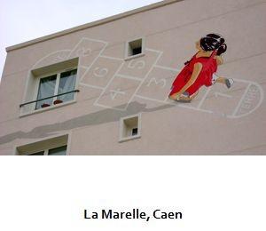 La Marelle, Caen