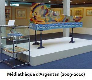 Médiathèque d'Argentan (2009-2010)