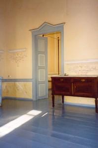 Pièce peinte, maison Grèce