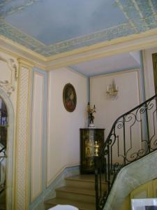 Plafond & cage d'escalier