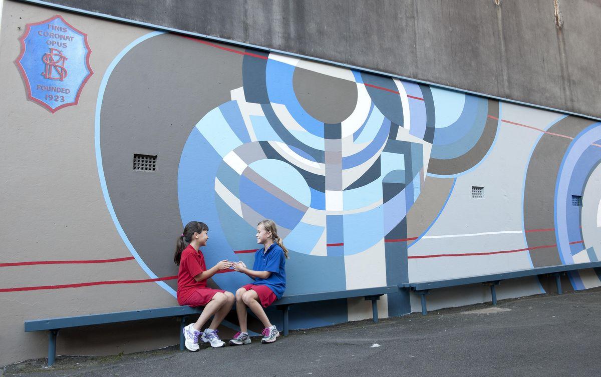 Primary school Mural Sydney