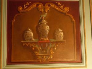 Toile peinte oiseau