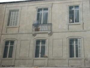Trompe l'oeil façade, Angoulème 4