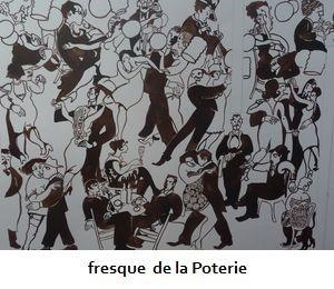 fresque  de la Poterie