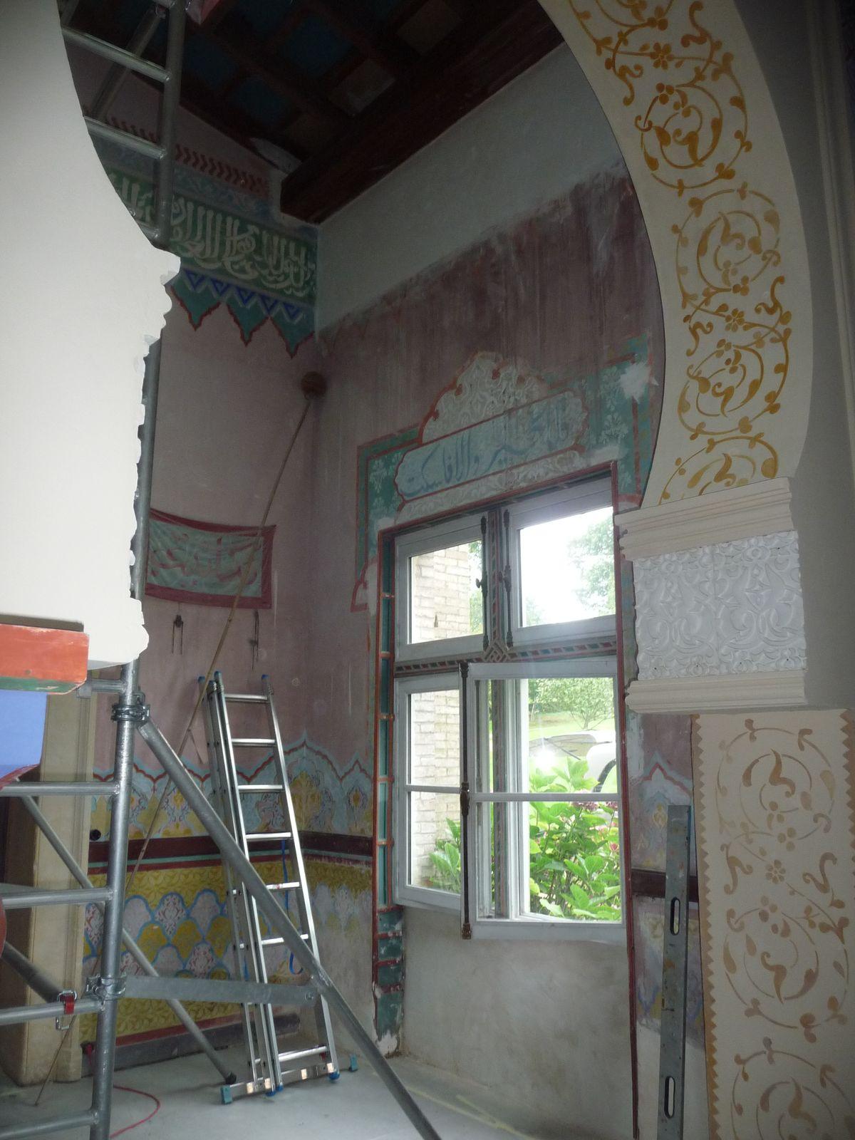 salon orientaliste avant travaux 1