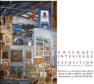 """Exposition """"PAYSAGES INTÉRIEURS"""