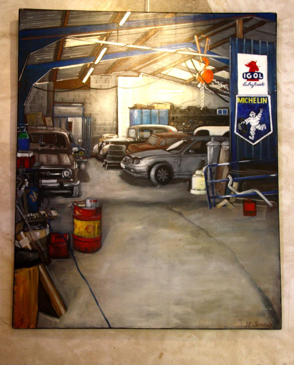 Garage 110x134