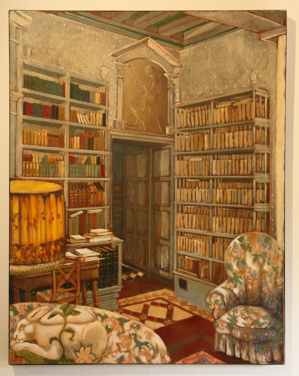 La bibliothèque 71x61
