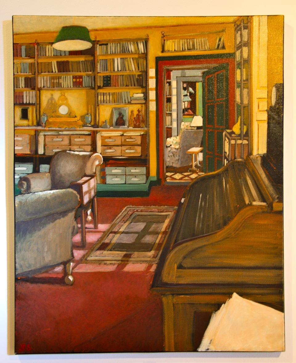 Le bureau de Roger Martin du Gard 60x81