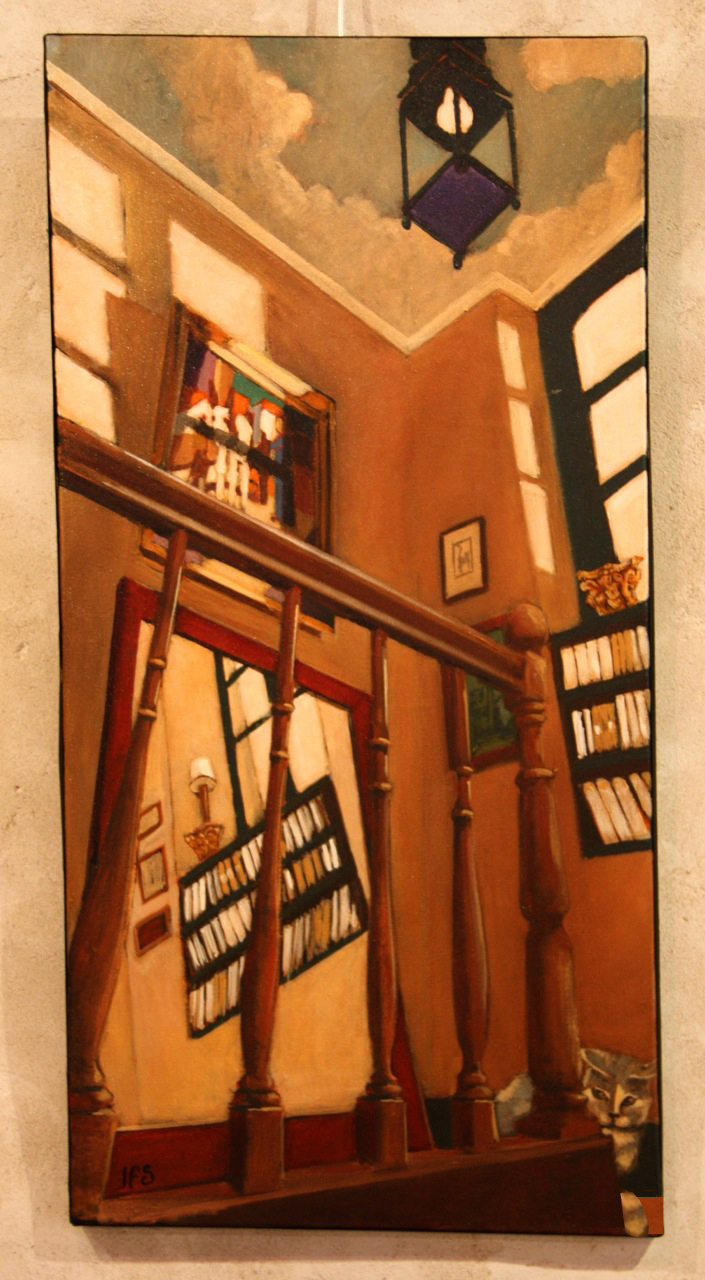L'escalier 76x38