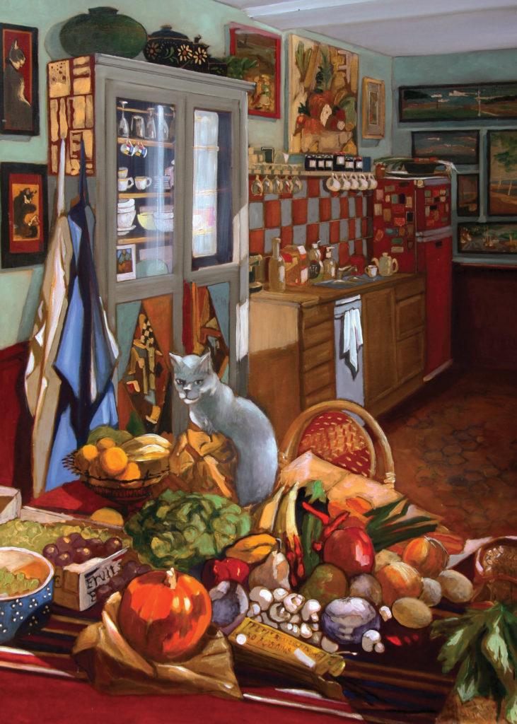 Peinture Exposition JF Sineux