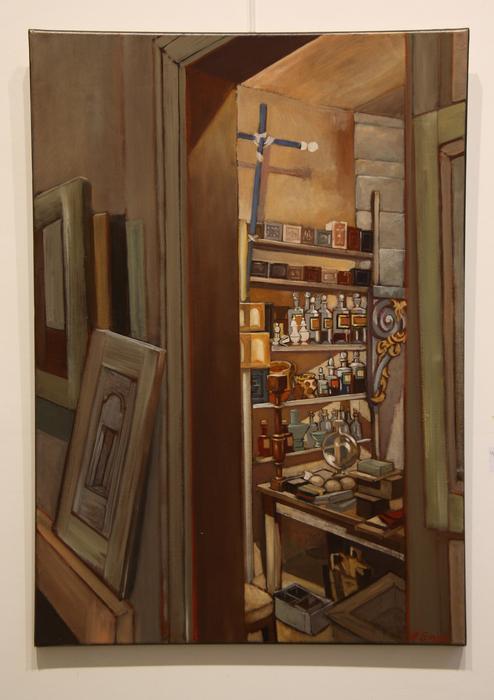 Cabinet de curiosités (65x92 cm)