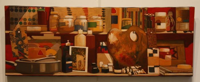 Frise atelier (41x112 cm)