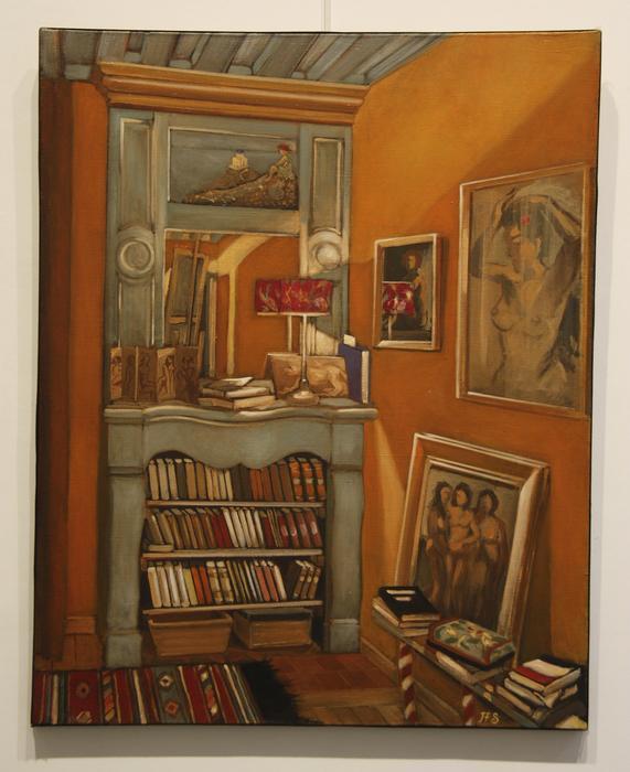 La chambre (65x81 cm)