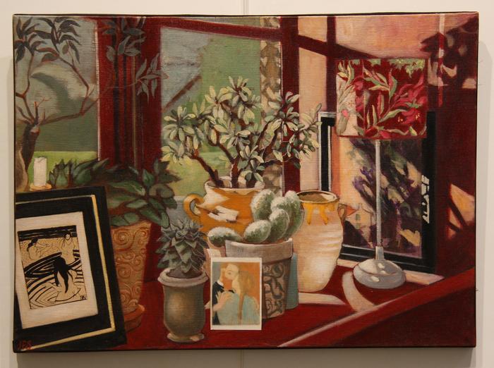 La fenêtre (55x76 cm)
