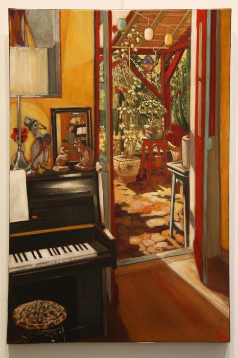 Le piano (54 x 81 cm)