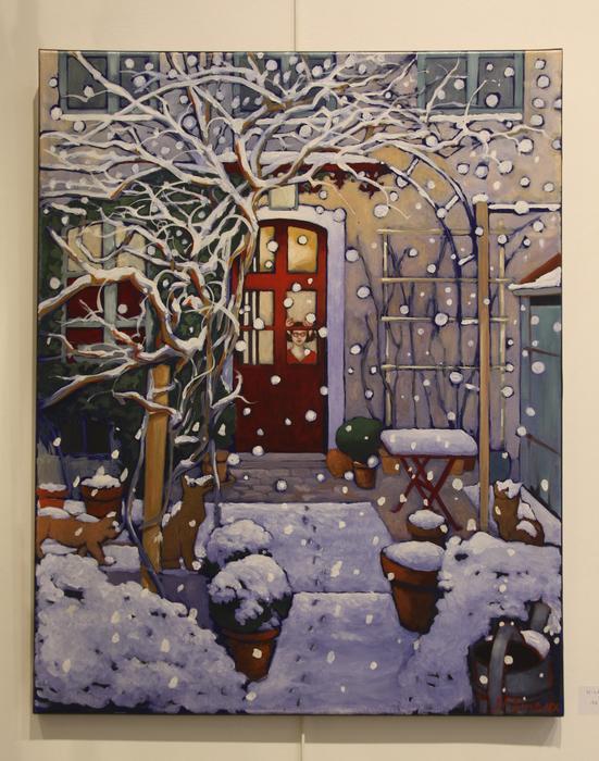 L'hiver (73x92 cm)