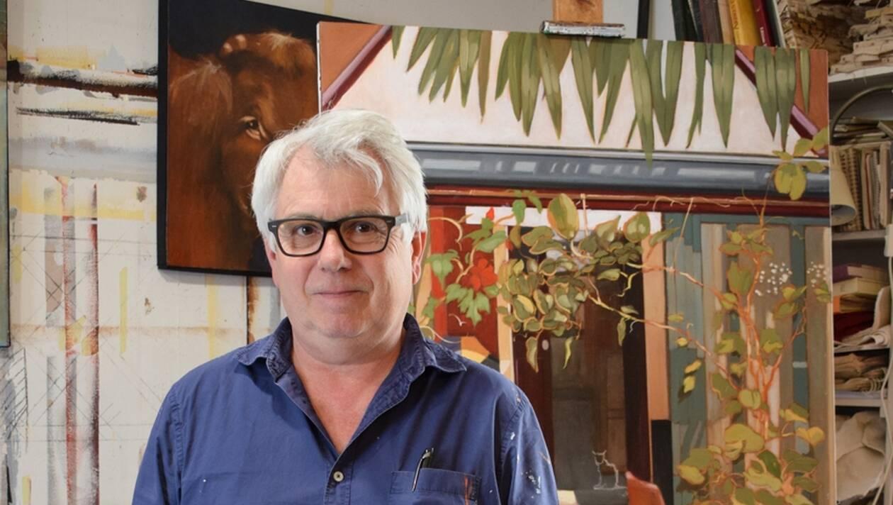 Les fresques des frères Sineux sur Fernand Léger et André Mare sont familières aux Argentanais.